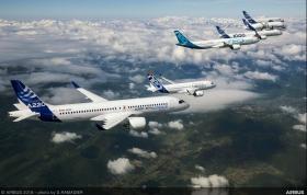 Airbus a vandut mai multe aeronave decat Boeing