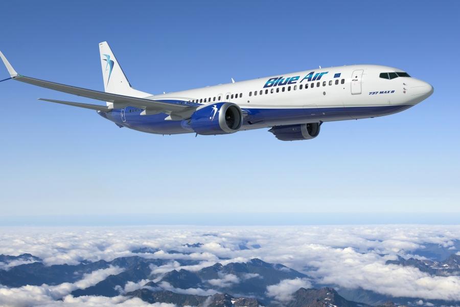 Blue Air inaugureaza opt noi rute de zbor din Romania