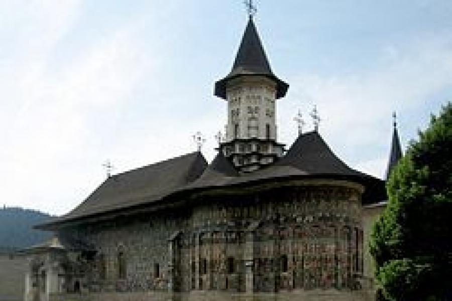 Manastirea Sucevita - Moldova - Judetul Suceava
