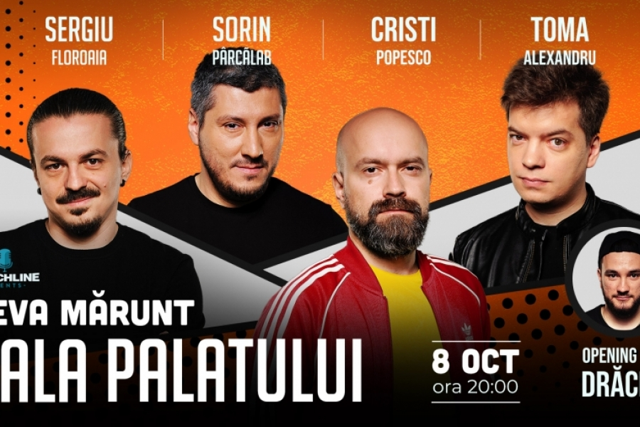 Sergiu Floroaia, Toma Alexandru, Cristi Popesco și Sorin Pârcălab.