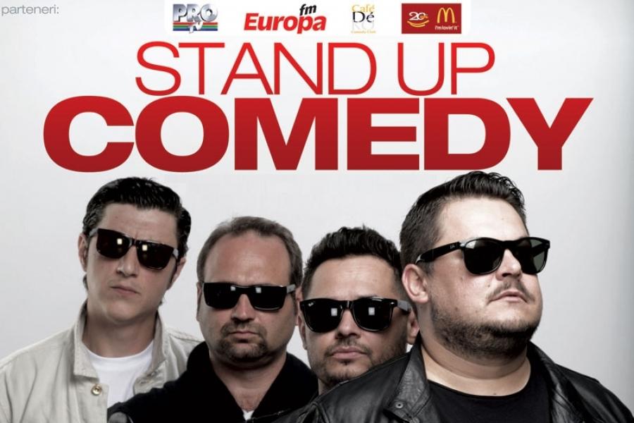 Stand-up: Showul nou cu glume tipla