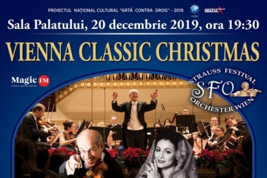 Strauss Festival Orchestra Vienna prezinta Vienna Classic Christmas