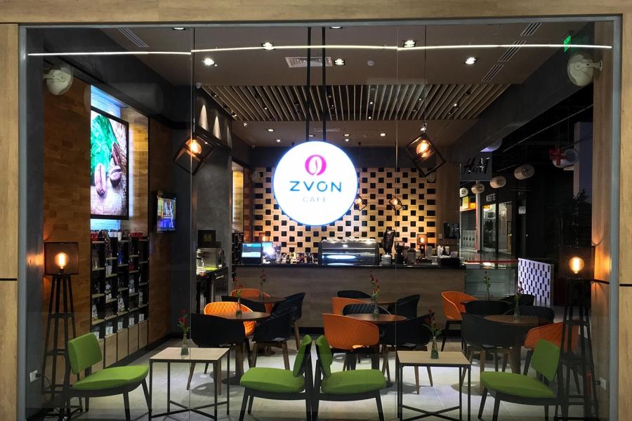 Zvon Cafe Promenada Mall Braila